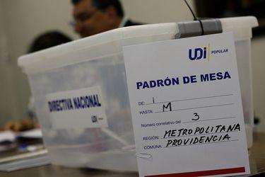 Elecciones UDI: Cierran las mesas de votación y comienza conteo de votos