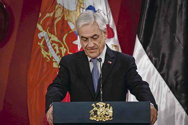 Piñera pierde su base de apoyo tradicional