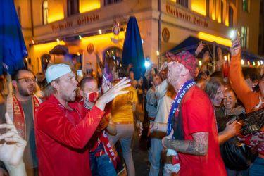 Festejo desatado en las calles de Múnich por el título del Bayern