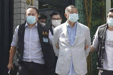 Acciones del grupo de prensa hongkonés del magnate Jimmy Lai se disparan un 788% desde su arresto