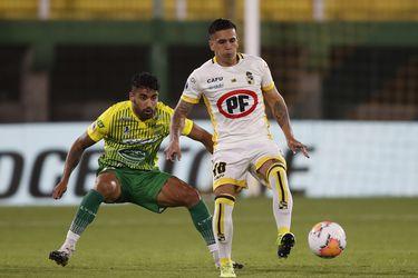 Abrigo aparece en el equipo ideal de la Copa Sudamericana