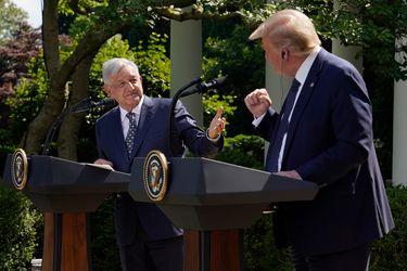 """""""Hemos recibido comprensión y respeto"""": Las frases que marcaron el primer encuentro entre AMLO y Trump"""