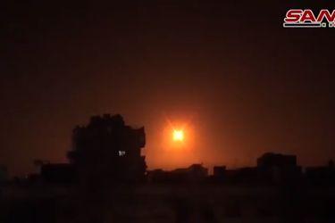 Siria responde con su defensa antiaérea ante ataques de Israel contra el centro y sur del país