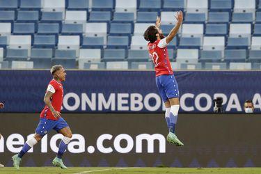 Derechazo inatajable: el primer gol de Brereton con la Roja