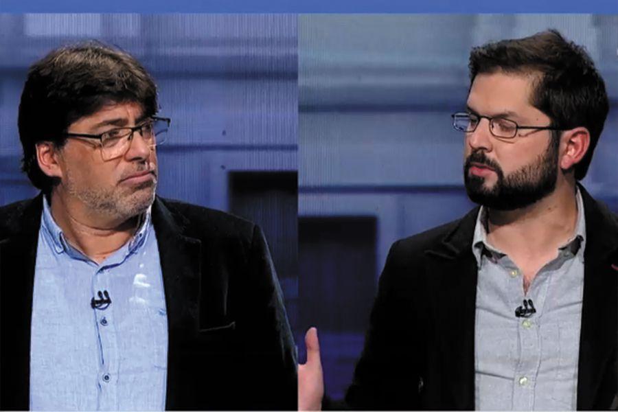 Pacto constitucional, retiro del 100% de las AFP y violaciones a los DD.HH  en Venezuela: las diferencias entre Jadue y Boric en su primer debate - La  Tercera