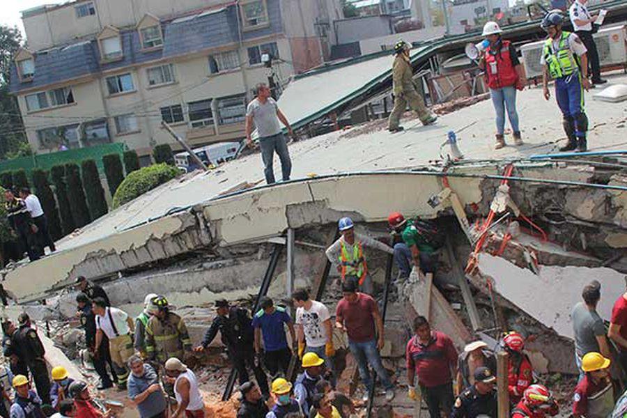 ¿Por qué los edificios en México se desploman y en Chile no? - La Tercera