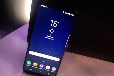 Tuvimos un Samsung S8 en las manos