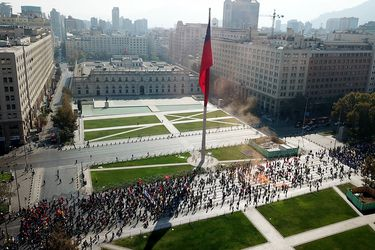 """Sin incidentes concluye la primera marcha familiar """"No+AFP"""" del año"""