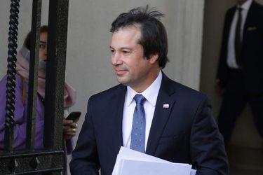 Ministro de Economía, Lucas Palacios por bono