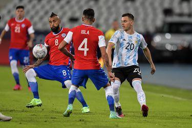 Chile se mide contra Argentina en el estreno en la Copa América de Brasil. Sigue minuto a minuto la suerte de la Roja.