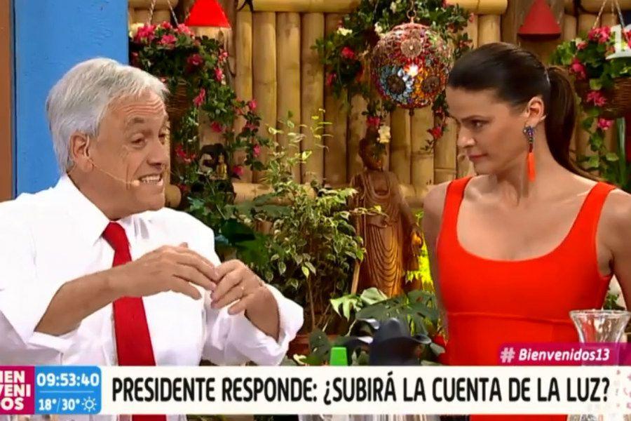 Piñera bienvenidos