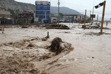Perú inundaciones, lluvia, frente de mal tiempo, emergencia