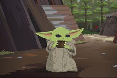 Baby Yoda llegó a South Park