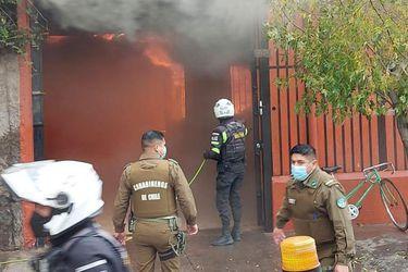 Puente Alto: incendio deja una menor de tres años fallecida y otra de 11 herida