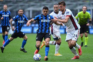 Imparable en su camino a la corona: el Inter doblega por la mínima al Cagliari con Alexis hasta los 70′ y sin Vidal