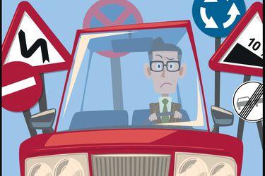 ¿Cuáles son las preguntas que más fallan quienes reprueban el examen de conducir?
