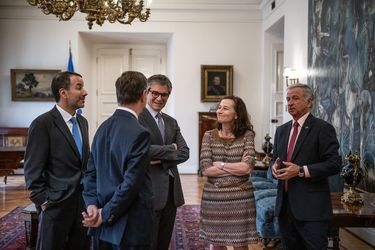 Banco Central y Felipe larraín