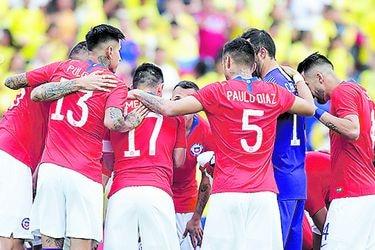 Chile arrancará las Eliminatorias como el 5° sudamericano del ranking FIFA