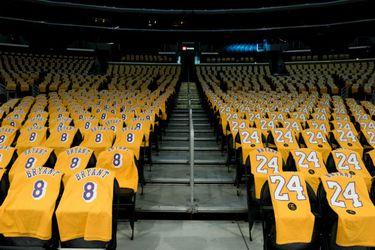 Staples Center. Homenaje a Kobe Bryant