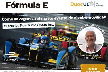 Duoc UC invita a conocer los secretos de la Fórmula E