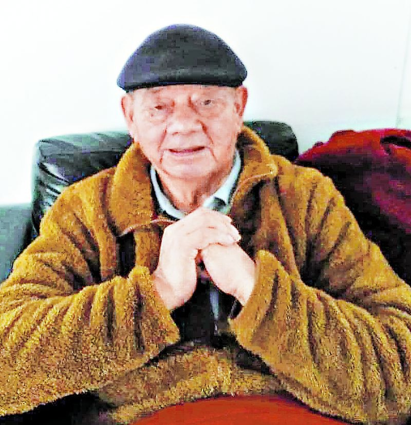 Fotografía de Juan Manqui, víctima chilena de Covid-19 de la Región del Bío Bío.