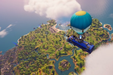Un primer vistazo a Fortnite en PlayStation 5