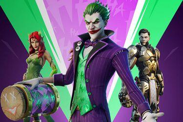 Nuevas skins del Joker y Poison Ivy llegarán a Fortnite en noviembre