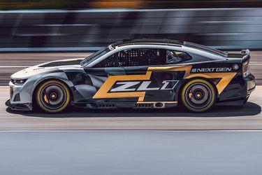 Chevrolet presenta el nuevo Camaro ZL1 para la serie NASCAR