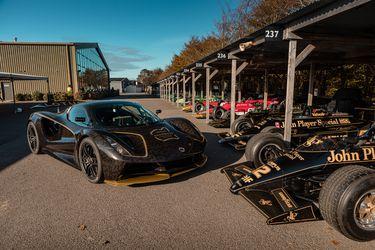 El hiperdeportivo Lotus Evija de 2.000 Hp dice presente en la Speedweek de Goodwood
