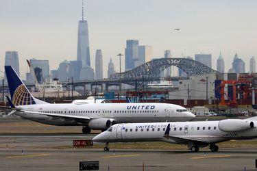 Facturación de United Airlines cae 78% y pierde US$1.800 millones en tercer trimestre