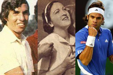 Todos los Grand Slam de Chile: los precursores de Nico Massú
