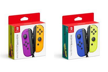 Vuelve el púrpura a las consolas con los nuevos Joy-Con de Nintendo Switch