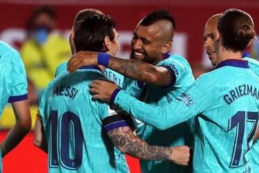 """Messi llora a Vidal: """"El vestuario te va a extrañar"""""""