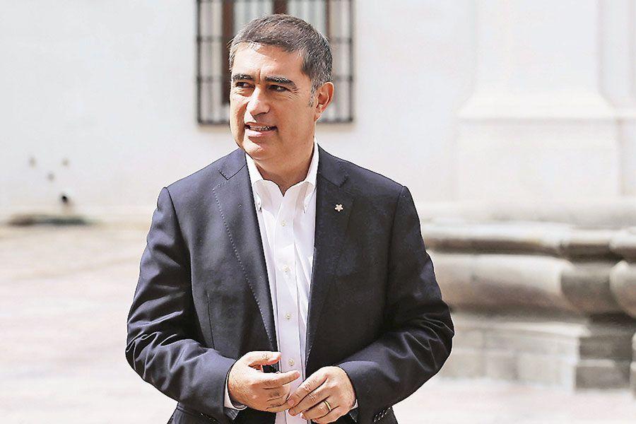 El presidente de Renovación Nacional (RN), Mario Desbordes.