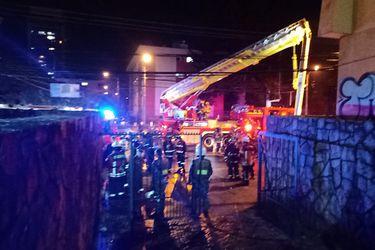 Incendio en laboratorio de Hospital Regional de Temuco obligó a evacuar pacientes