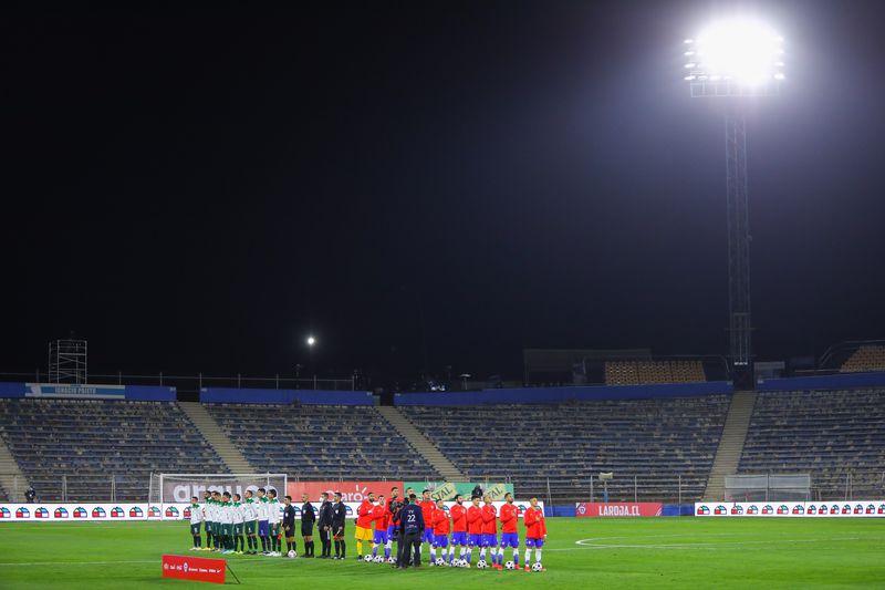 Chile enfrentó a Bolivia, en San Carlos de Apoquindo, el 8 de junio pasado.