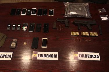 PDI incauta subametralladora y munición de diverso calibre en operativo en que se detuvo a tres sujetos implicados en secuestro