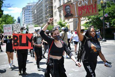 Ola de protestas en Estados Unidos