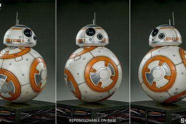 La increíble y cara figura de BB-8 que cuesta más de dos millones de pesos