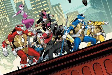 Prepárense para conocer a los Ninja Rangers y los Rangers Tortuga