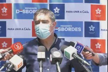 """Mario Desbordes: """"Las personas que justifican las barricadas incendiarias, las barricadas violentas, son los mismos que están pidiendo término al control de identidad"""""""