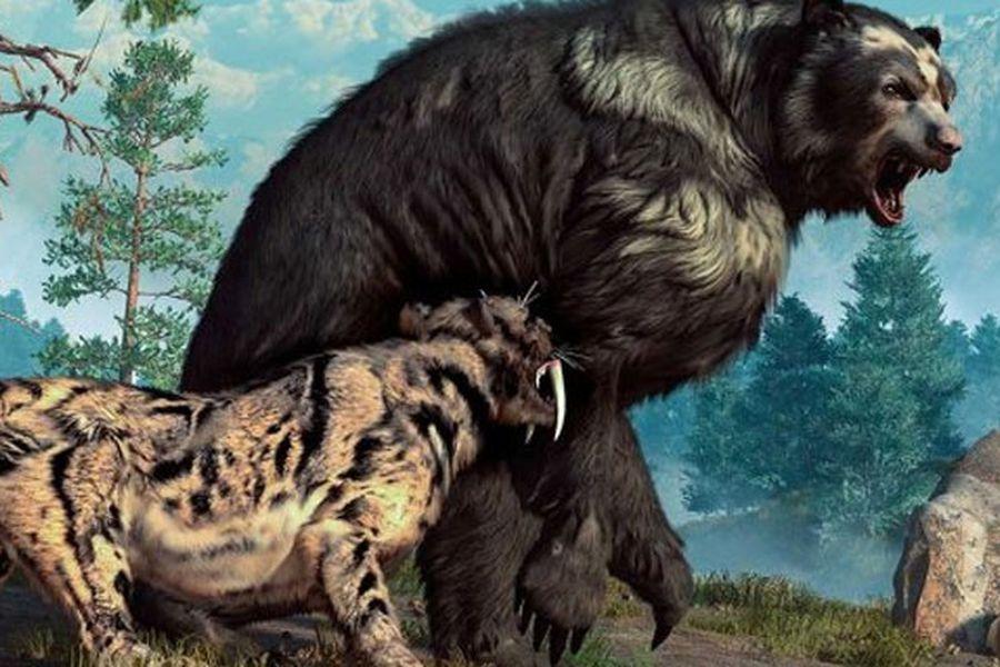 Los depredadores gigantescos de América del Norte.