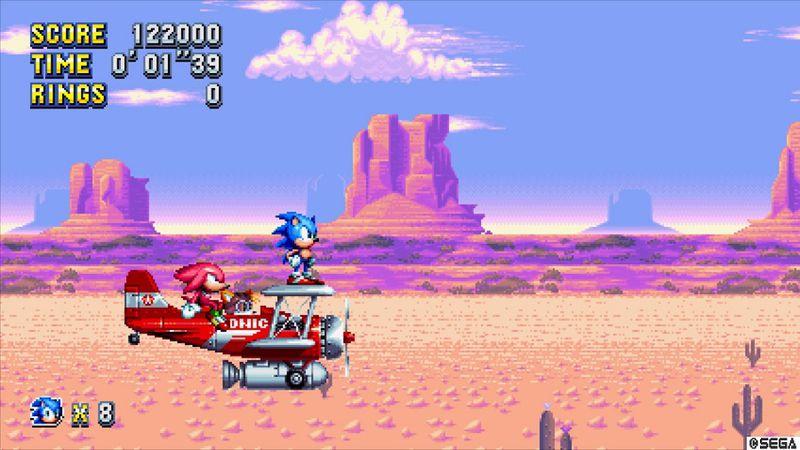 Sonic Mania - Mirage Saloon