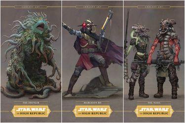 Star Wars: The High Republic presenta a sus villanos