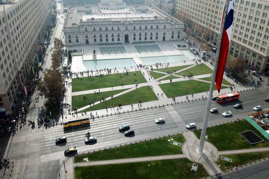 DRONE DÍA DEL PATRIMONIO: Palacio de La Moneda
