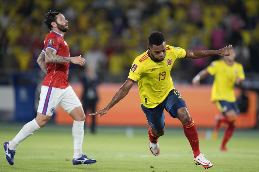 En vivo: Jean Meneses descuenta para Chile ante Colombia - La Tercera