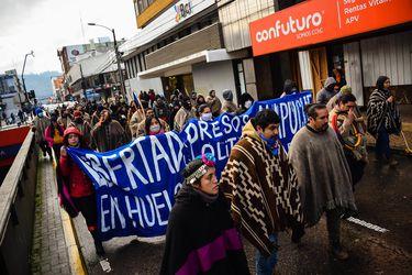 """El huelguista mapuche que no quiso salir de la cárcel por estar en un """"movimiento de carácter político"""""""