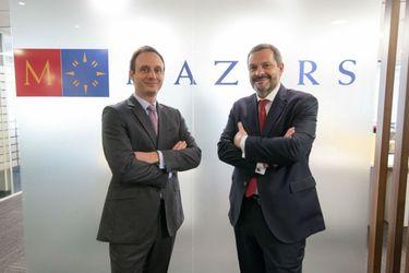 Damien de la Panouse y Rubén López - Mazars Chile