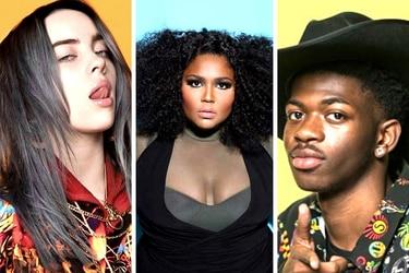 Lizzo, Billie Eilish y Lil Nas X: los tres debutantes que lideran la carrera al Grammy