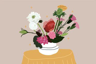 Los beneficios de tener flores en la casa
